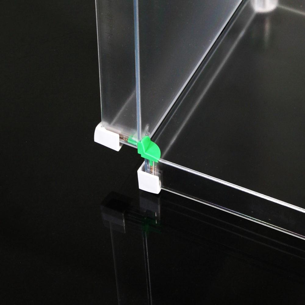 Innenverbinder zwei fach verbindungsteil montage x-cett verbindung casette