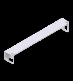 x-cett Eckverbinder Ansicht oben weiß Winkel Winkelschiene Schiene Verbindungsstück Zubehör
