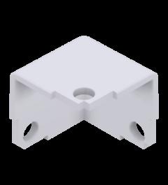 x-cett Ecke Kofferecke weiß Ansicht oben Verbindungsstück Zubehör