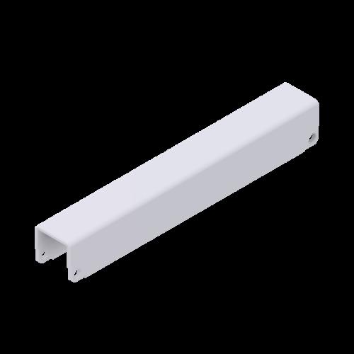 x-cett Schiene Ansicht unten weiß Verbindungsstück Zubehör