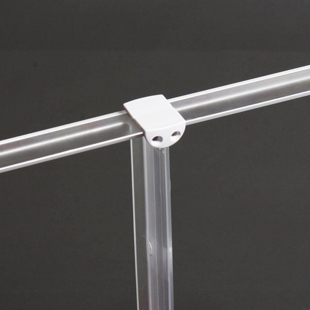 Randverbinder x-cett signalgrau hellgrau VRandverbinder mit Senkung Sekungen x-cett signalgrau hellgrau Verbindungsteil möbelstück verbindung befestigung montage