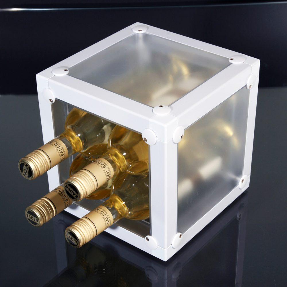 Würfel Block Ablage x-cett werbung werbetechnik individuell individualität kreativ kreativität Büro casette Weinregal Weinhalter Halter Wein Flaschenhalter Flaschenregal