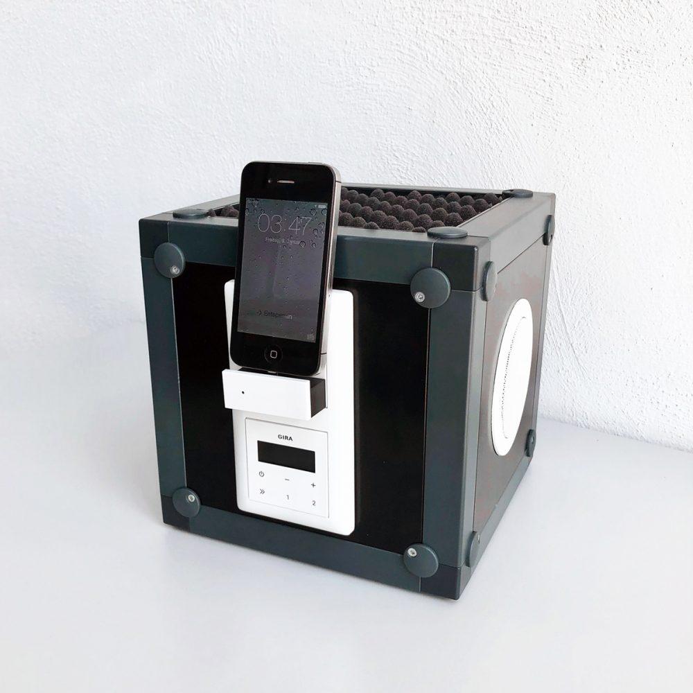 Kasten Würfel Elektronik Einbaukasten referenz referenzbild