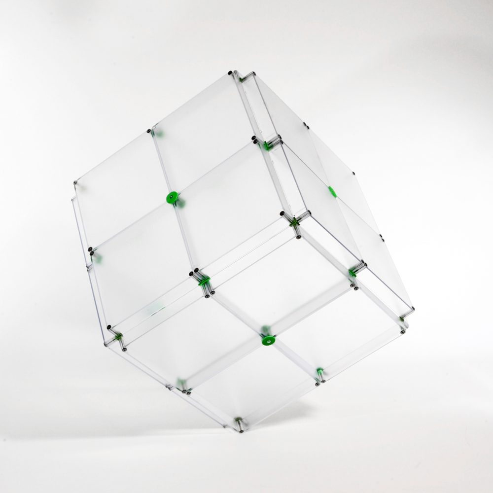 x-cett Würfel 2x2 niedrig Glas Milchglas Baustein grau Kasten Quader Box vielseitig einsetzbar wandelbar einzigartig modern personalisiert kreativ wunschbedrucke Informationssystem stehend
