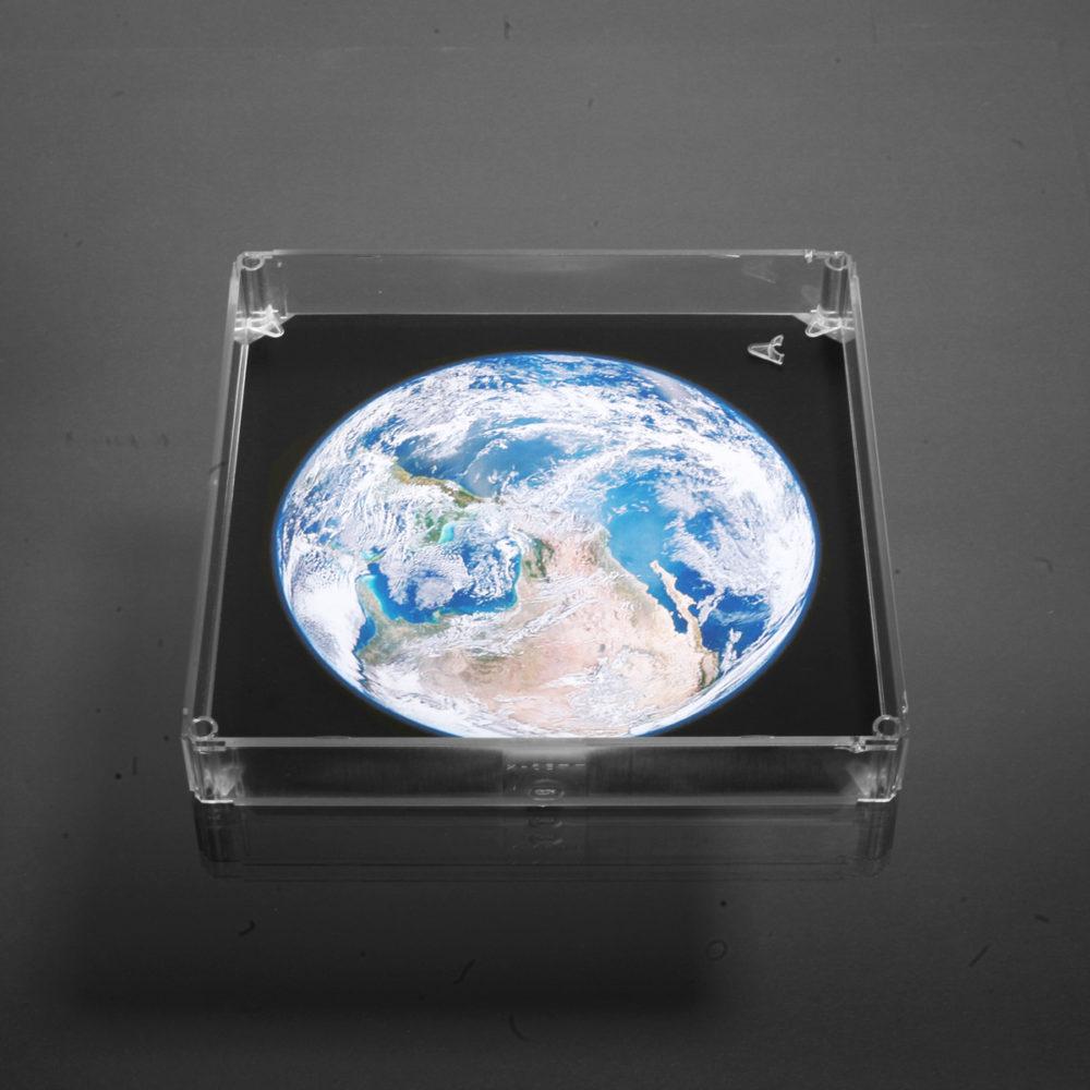 x-cett Casette Motiv Inlay und Halteclip Glas Milchglas Zubehör