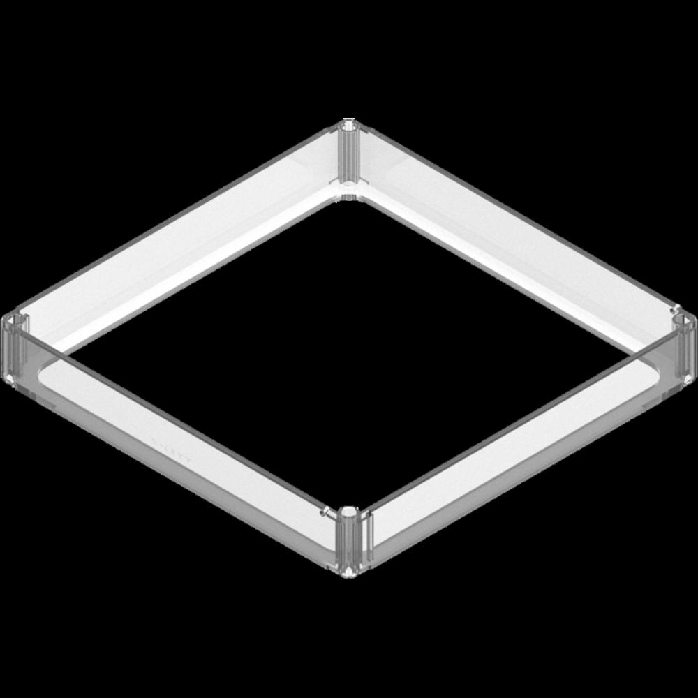 x-cett rahmen geschlossen schutz montage verbindungsteil