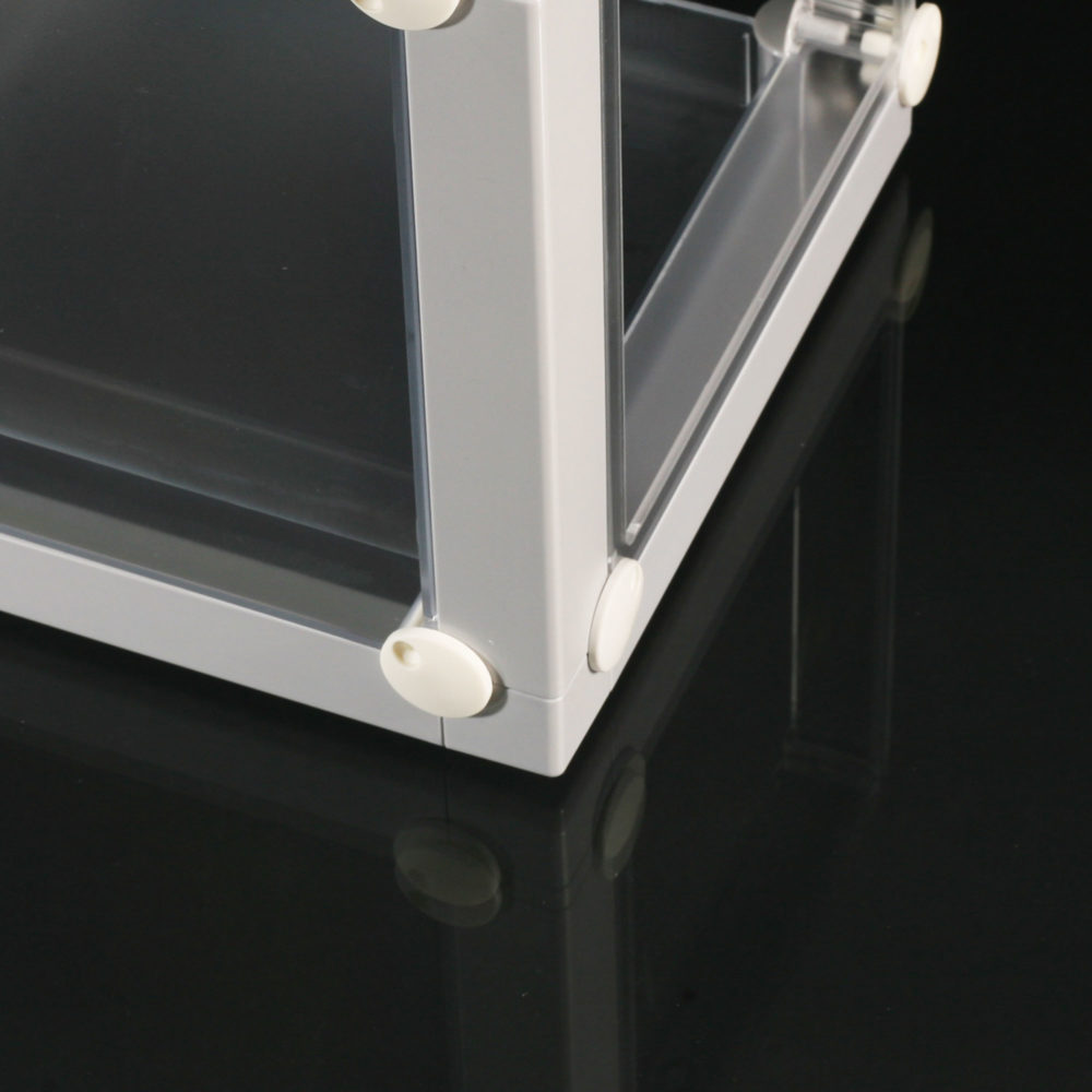 Rahmenteil Eckschiene Schutz casette x-cett Schutzteil hellgrau würfel ecke