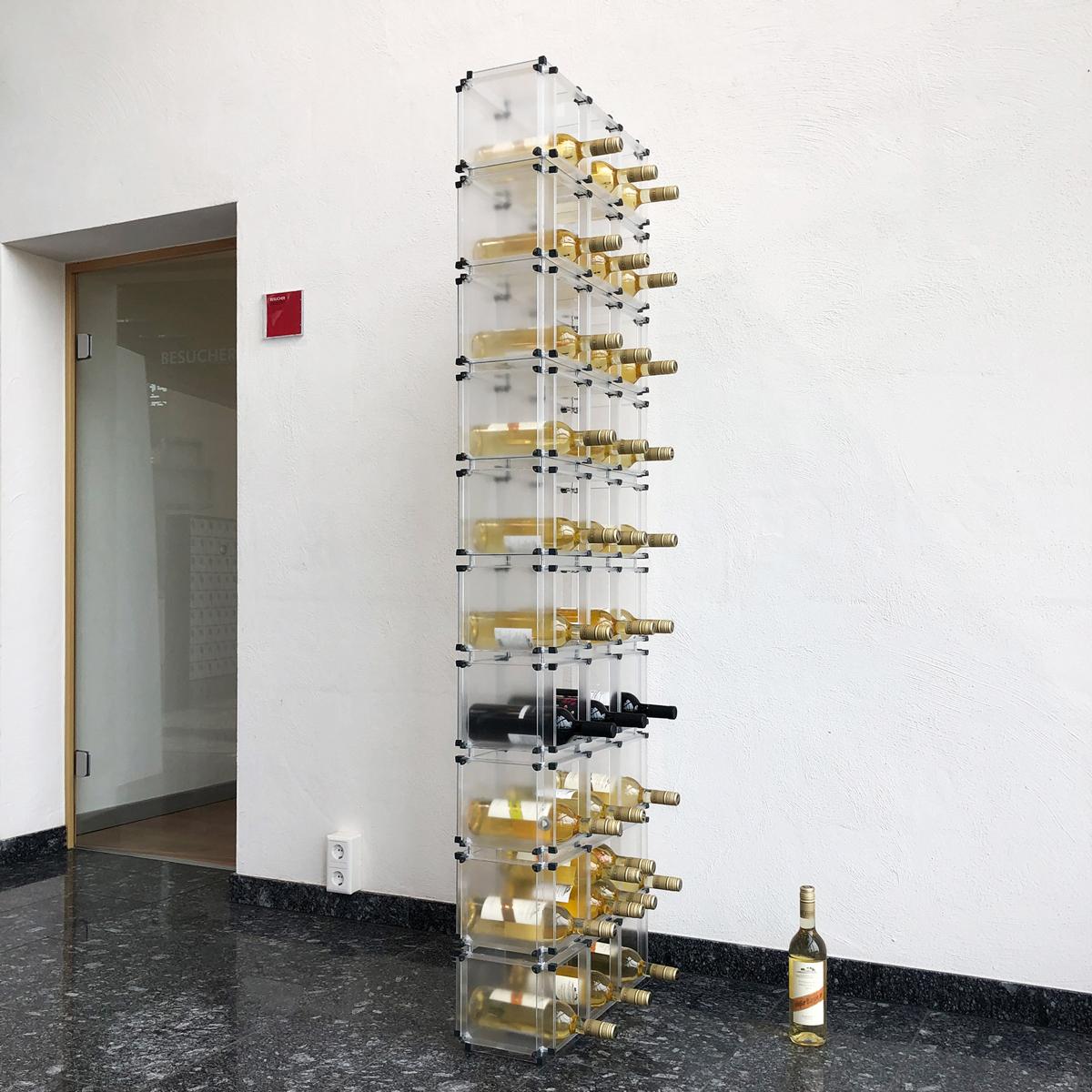 Individuelles Flaschenregal Das Baukastensystem Von X Cett